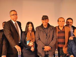 """صور.. أحمد بدير وفتوح أحمد فى مؤتمر إعلان بدء العرص المسرحى """"فرصة سعيدة"""""""