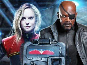 فيديو.. التريلر الرسمى لفيلم Captain Marvel يعود بالزمن للتسعينات