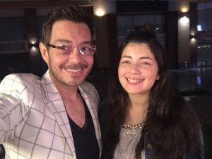 شاهد..أحمد زاهر وابنته ليلى فى سليفى جديد