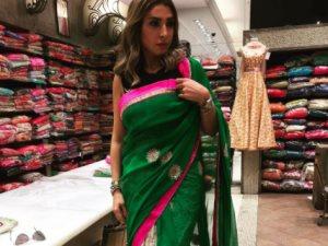 روجينا تنشر صورة لها بالزى الهندى