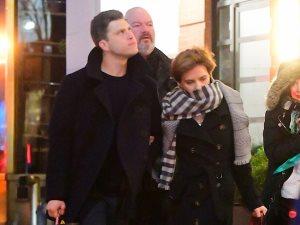 هل خُطبت سكارليت جوهانسن للممثل كولن جوست؟