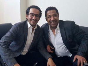 أحمد حلمى مع الشاب خالد ويعلق: «ضحك هستيرى»