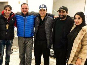 صورة.. إيهاب توفيق وشيبة برفقة أحمد سعد وزوجته فى أمريكا لهذا السبب