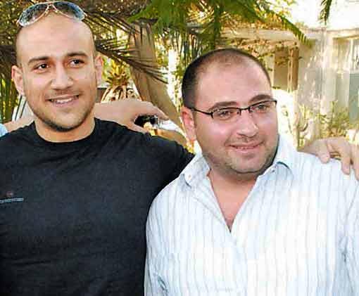 احمد مكي والمخرج احمد الجندي