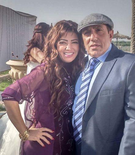 أحمد صيام وزوجته