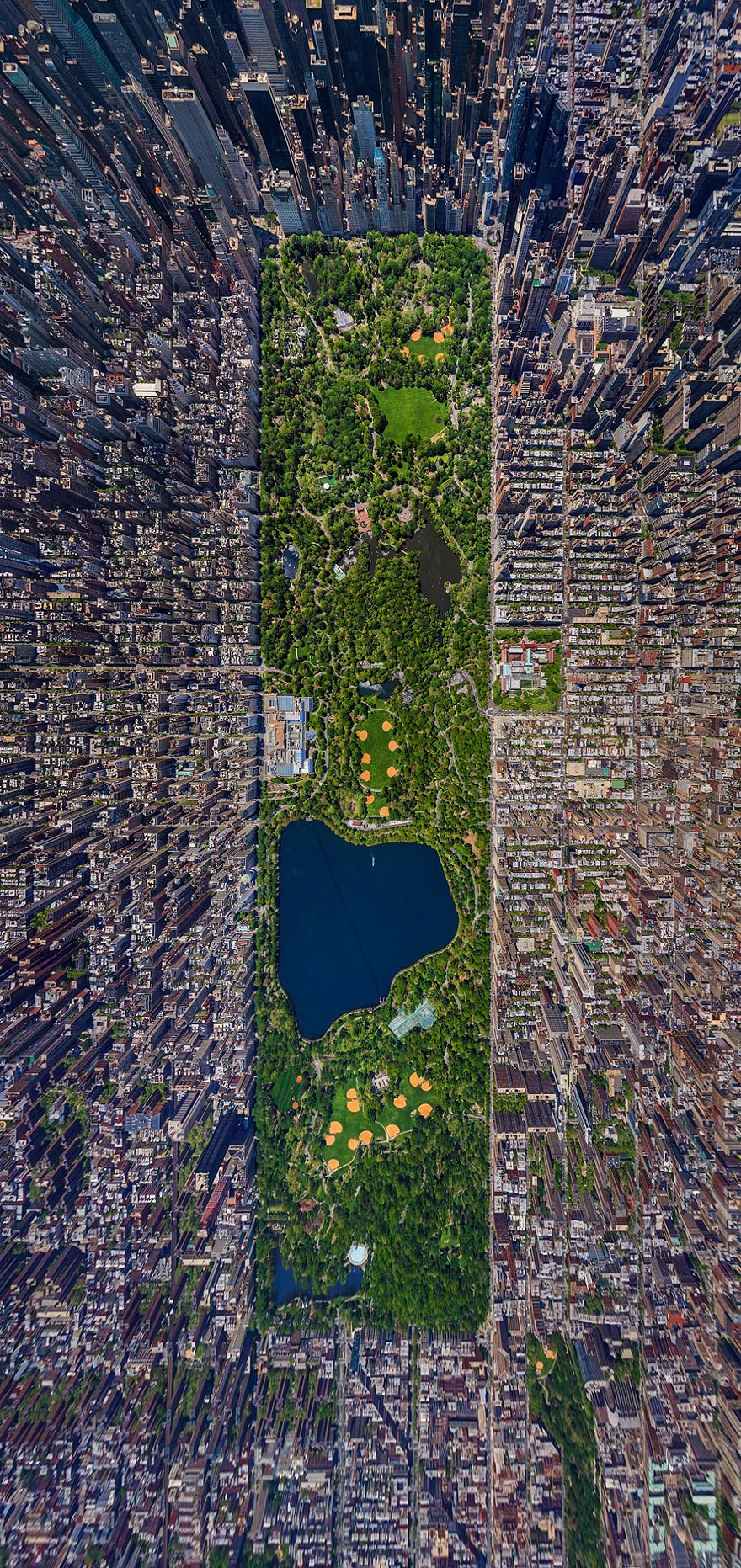 Central Park in New York, USA