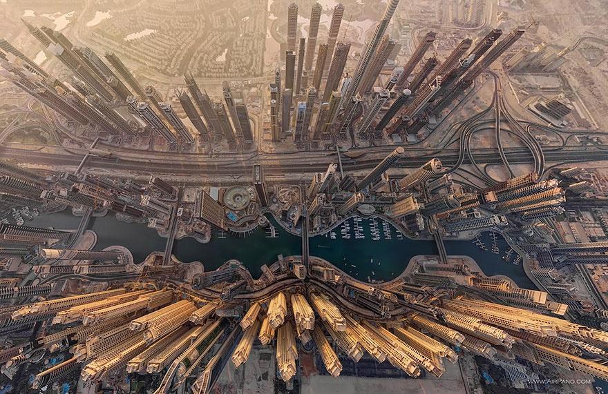 Dubai Marina in Dubai, UAE