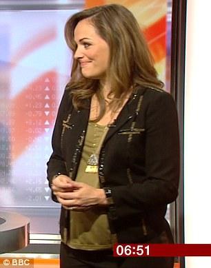 فيكتوريا مذيعة بي بي سي