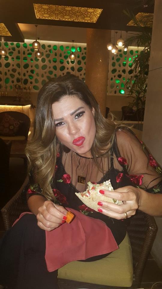 رانيا فريد شوقي وأحلي سندوتش طعمية