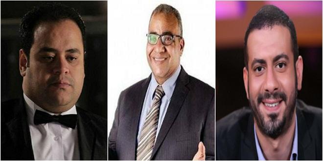 محمد فراج وبيومى فؤاد ومحمدممدوح