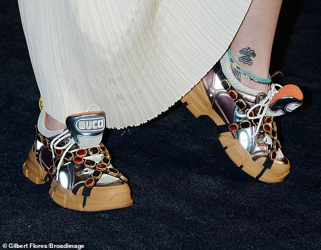 حذاء باريس من Gucci