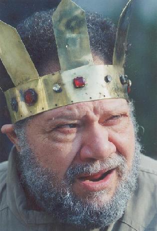 يحيى الفخرانى بشخصية الملك لير