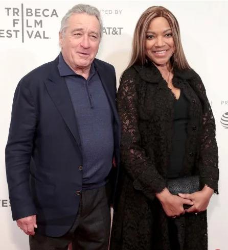 روبرت دى نيرو وزوجته الممثلة جريس هايتاور
