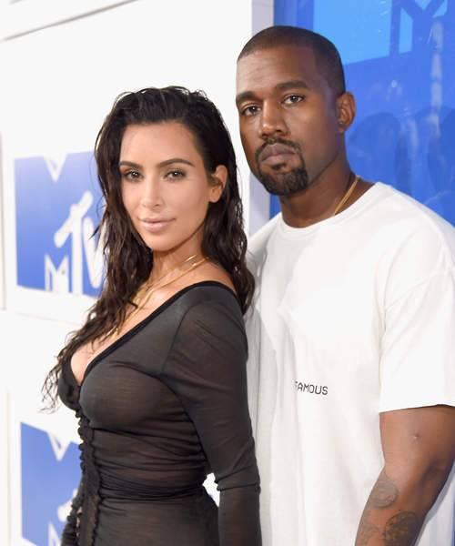كيم وزوجها