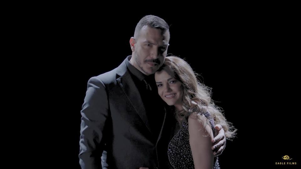 صور كواليس قصة حب باسل خياط ودانا مردينى فى رقصة تانجو عين