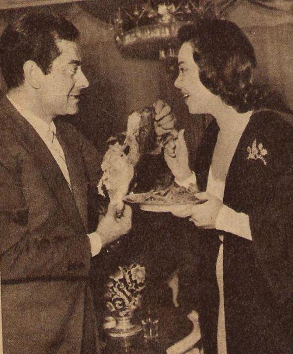 ماجدة مع فريد الاطرش