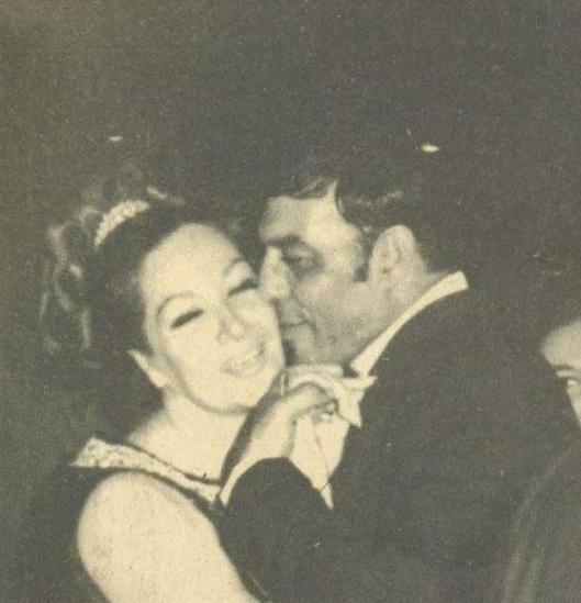 قبلة وحش الشاشة لزوجته