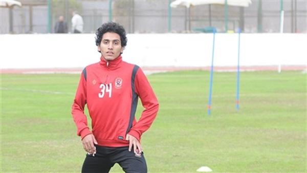 احمد حمدى لاعب الاهلى