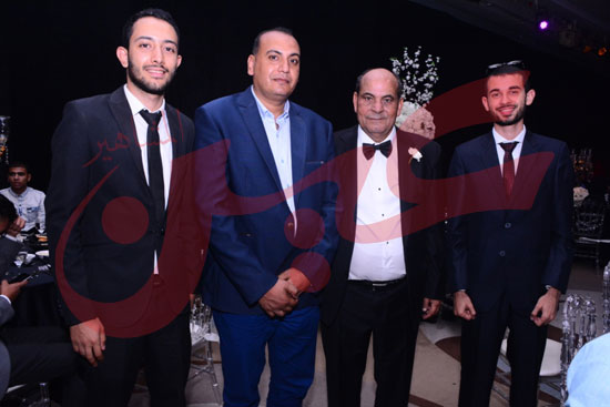 زفاف ابراهيم الجمل وايمان آل غرو (3)