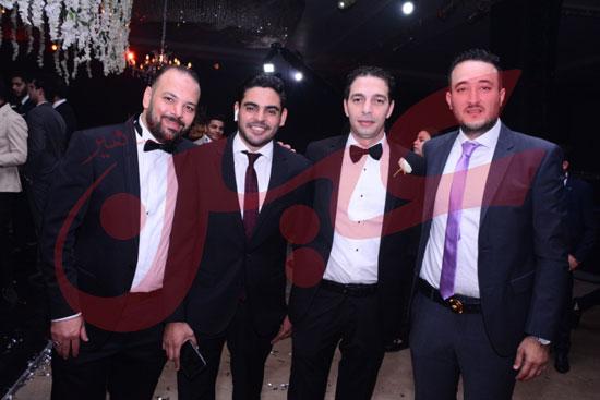 زفاف ابراهيم الجمل وايمان آل غرو (4)