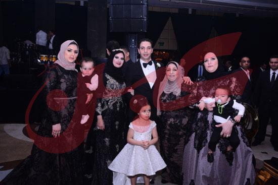 زفاف ابراهيم الجمل وايمان آل غرو (9)