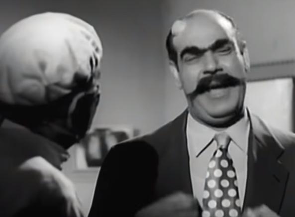 مشهد من فيلم عنتر و لبلب (1)