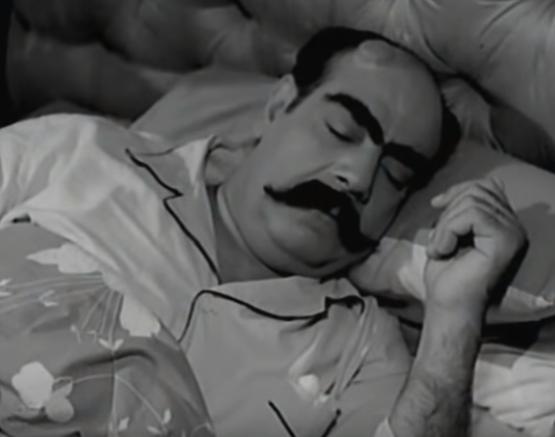 مشهد من فيلم عنتر و لبلب (2)