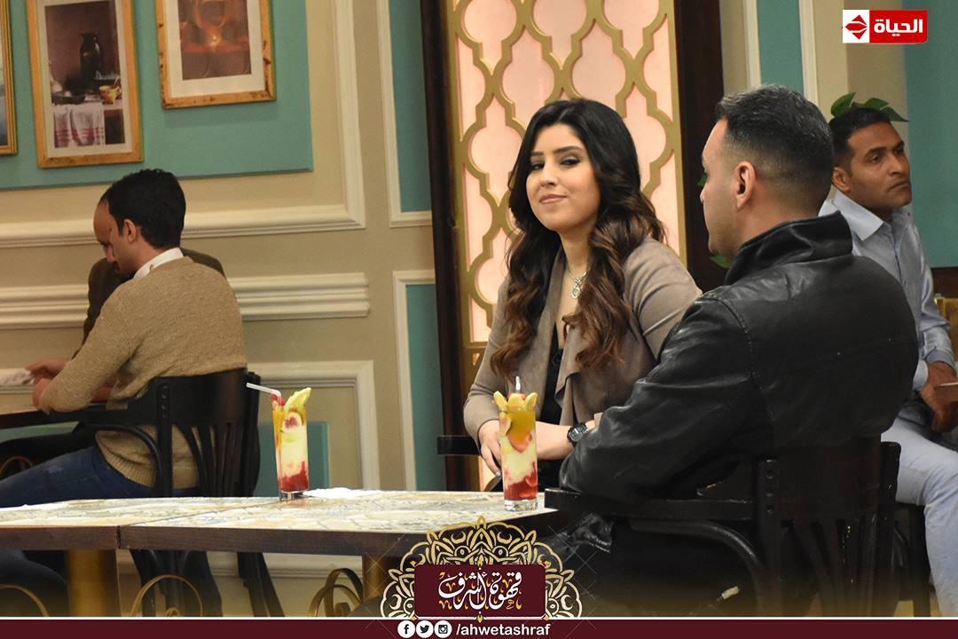 أشرف عبد الباقى و آيتن عامر و زوجها  محمد عز العرب (5)