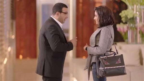 أحمد السقا ومى عمر ومحمد سامى (1)