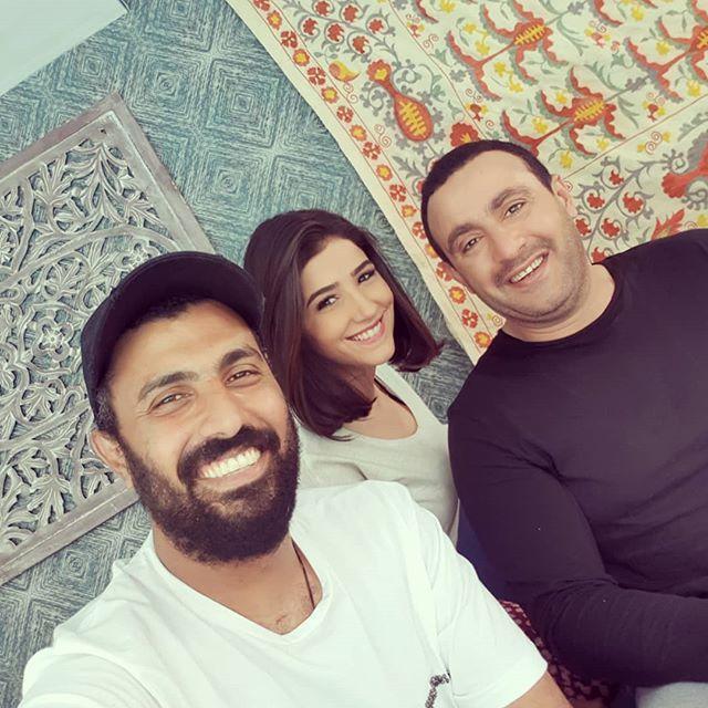 أحمد السقا ومى عمر ومحمد سامى (2)