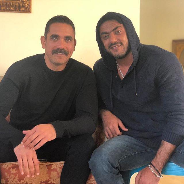 أحمد العوضى وامير كرارة (1)