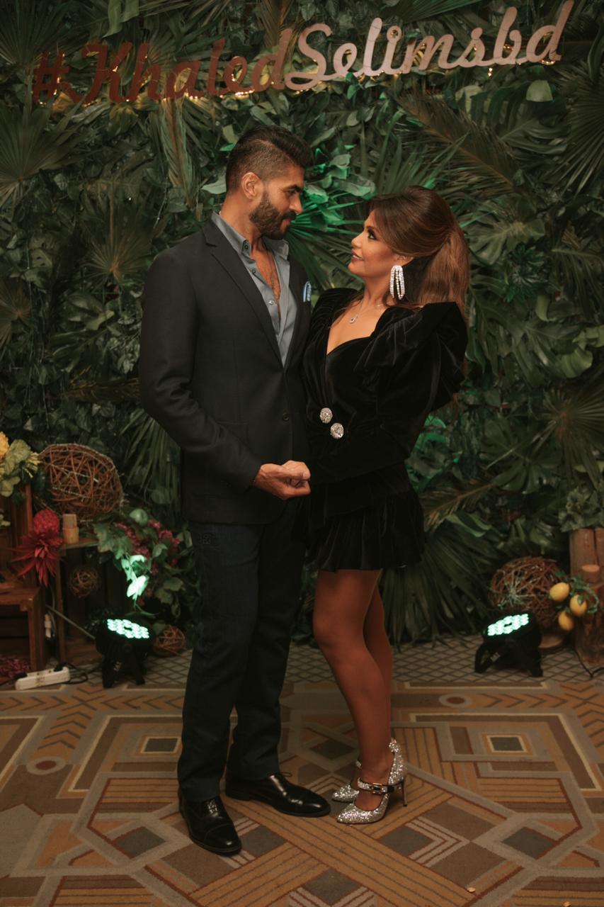 خالد سليم وزوجته (1)