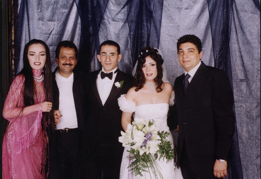 شريهان فى حفل زفاف منى زكى و احمد حلمى