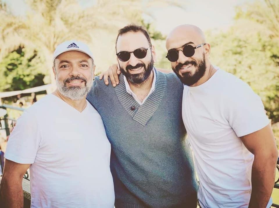 المخرج طارق رفعت والمؤلف شريف بدر الدين