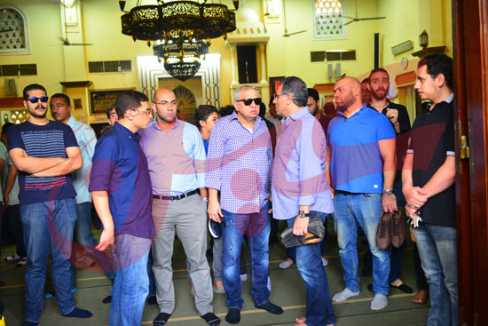 جنازة هيثم أحمد زكي (3)