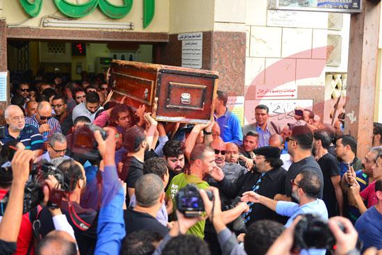 جنازة هيثم أحمد زكي (28)