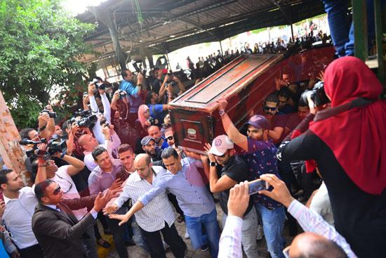 جنازة هيثم أحمد زكي (21)