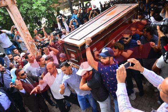 جنازة هيثم أحمد زكي (22)