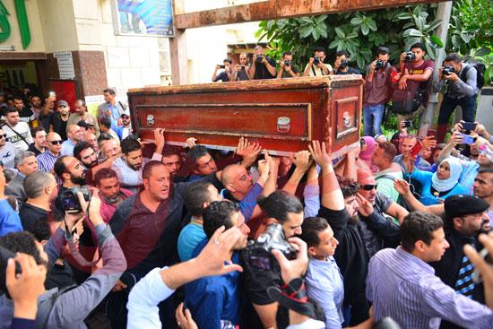 جنازة هيثم أحمد زكي (30)