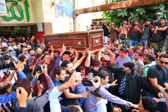جنازة هيثم أحمد زكي (29)