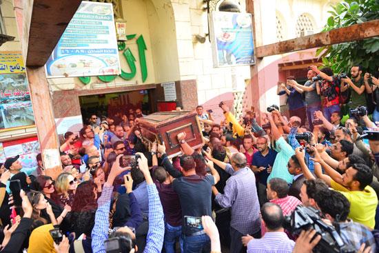 جنازة هيثم أحمد زكي (24)