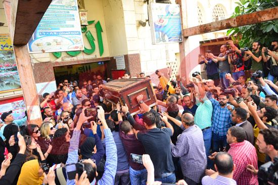 جنازة هيثم أحمد زكي (23)
