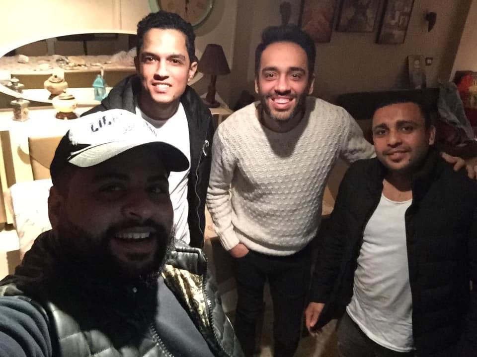 احمد تبارك ورامى جمال