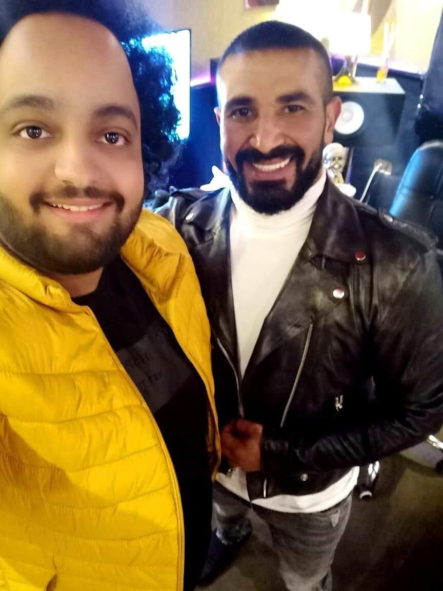أحمد سعد و عمرو الخضري