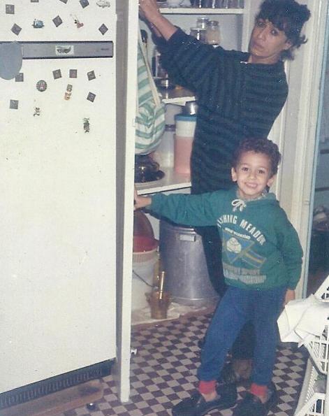 سعد لمجرد فى طفولته