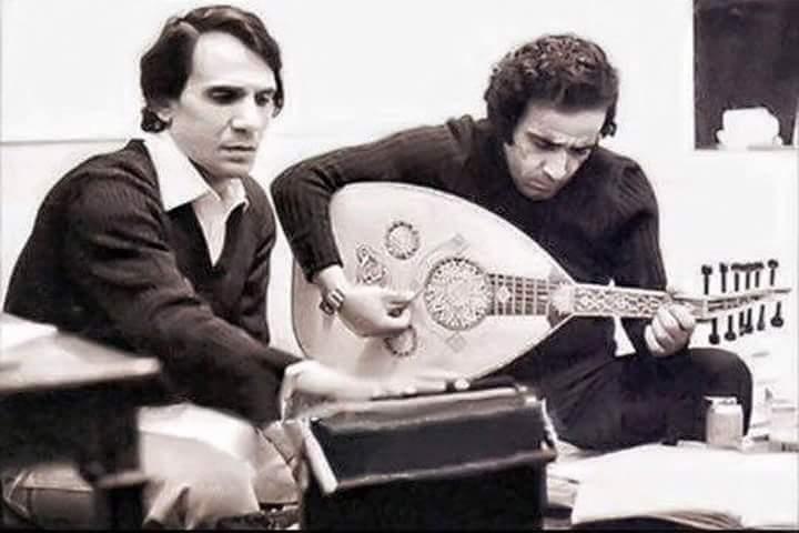 عبد الحليم حافظ وبليغ حمدى