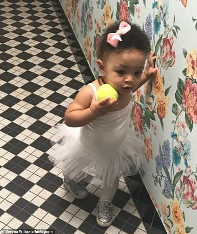 طفلة سيرينا وليامز (2)