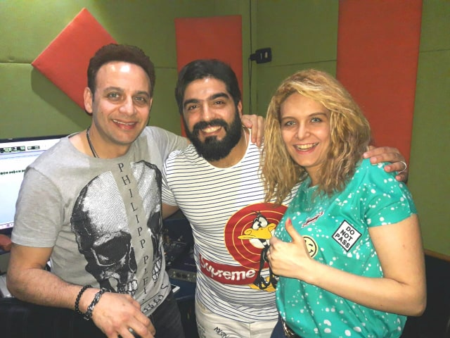 مصطفى قمر وميرنا طارق وأحمد البرازيلى