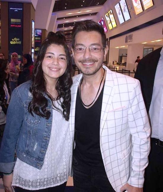 أحمد زاهر وزوجته (1)