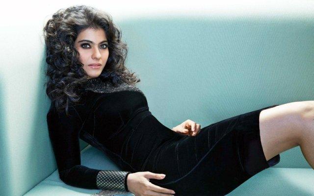 Kajol-in-black-dress